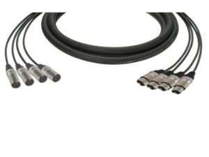 Cable For Musicians 4 Way Loom