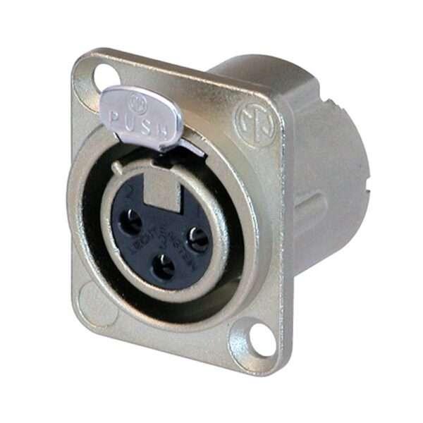NC3FD-LX XLR Socket